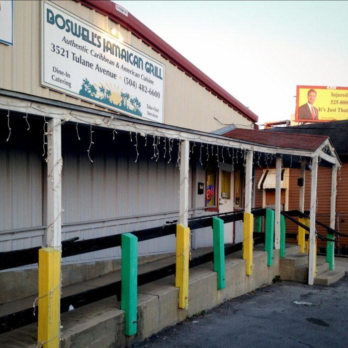 12) Boswell's Jamaican Restaurant, 3521 Tulane Ave.