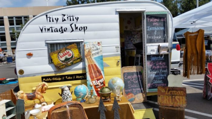 This whimsical vintage shop is one of my favorites. Housed in a small trailer and overflowing with a wide variety of goods, you're pretty much guaranteed to find a little something that will appeal to everyone.