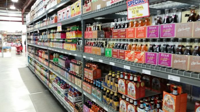 And don't forget to check out the truly epic soda selection. You'll discover soda flavors you never even knew existed, including celery, birthday cake, apple pie, maple and bacon.