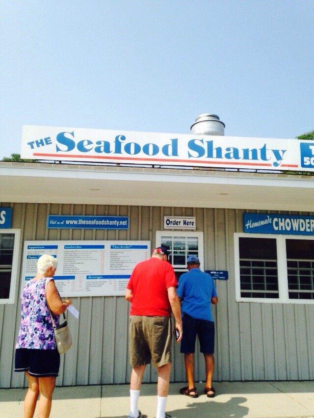 7. The Seafood Shanty, Buzzard's Bay