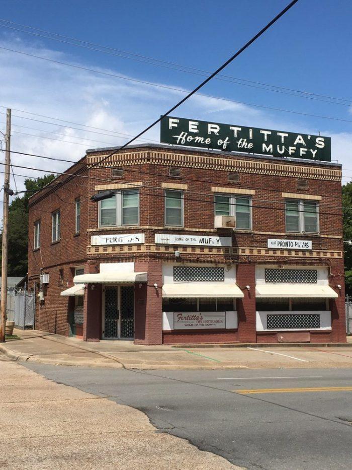 3) Fertitta's Deli, 1124 Fairfield Ave., Shreveport 1961