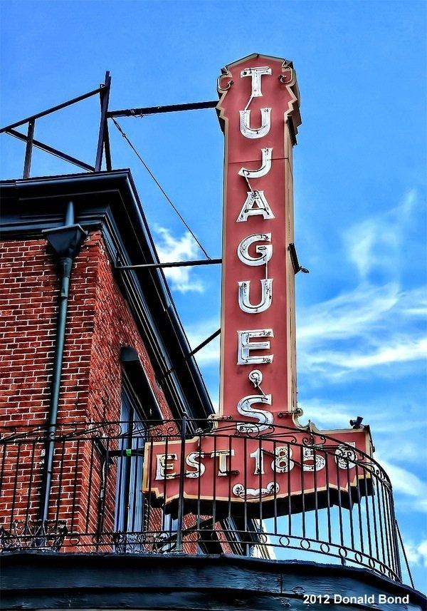 10) Tujague's, 823 Decatur St.