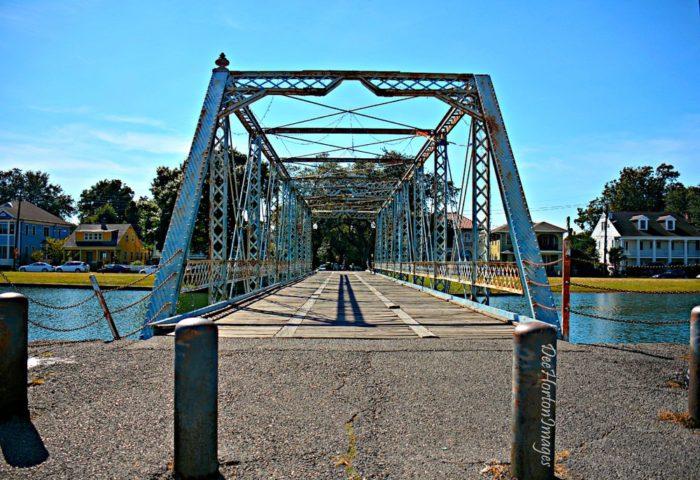 1) Magnolia Bridge on Bayou St. John @ Moss St.