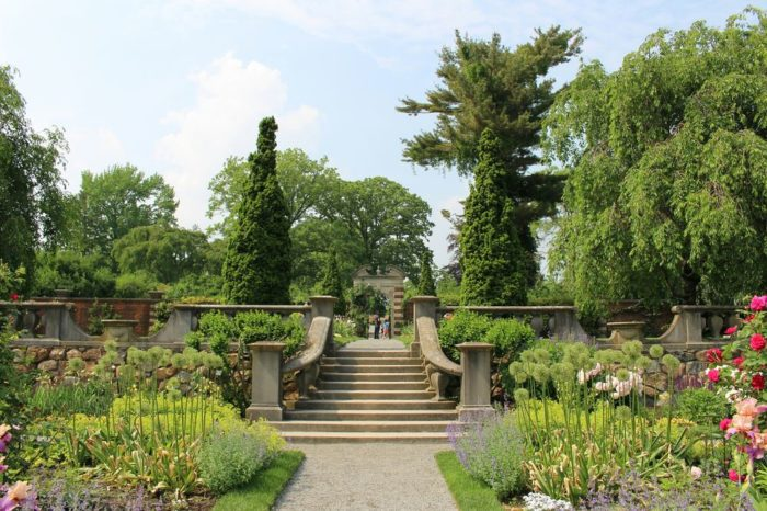 1. Spend an afternoon strolling through the Old Westbury Gardens.