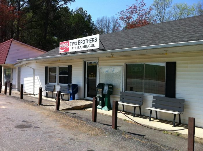 4. Two Brothers Bar-B-Que—1695 Old Canton Rd Ball Ground, GA 30107