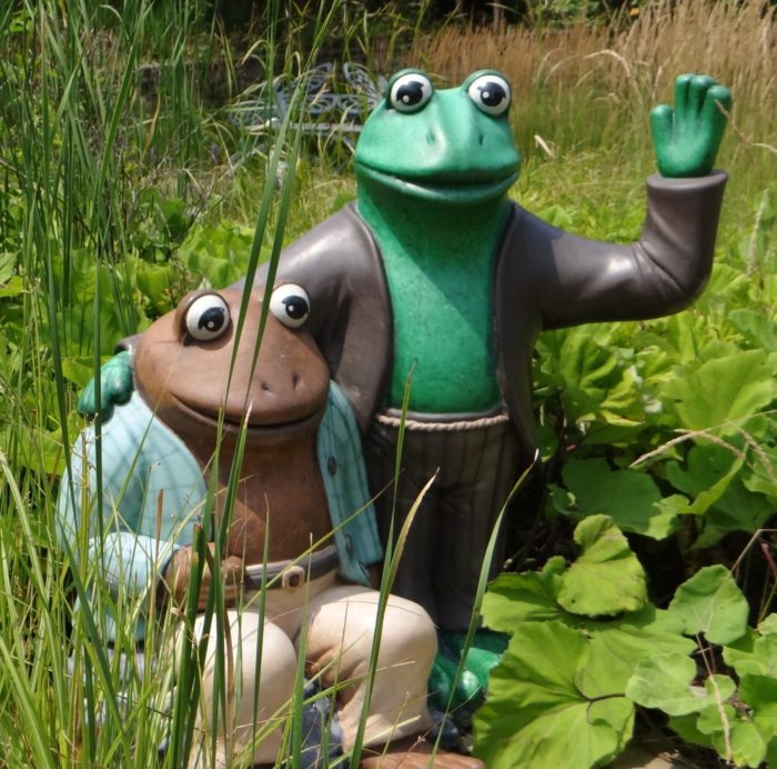 ...and plenty of frogs and toads (both real-life and fictional).