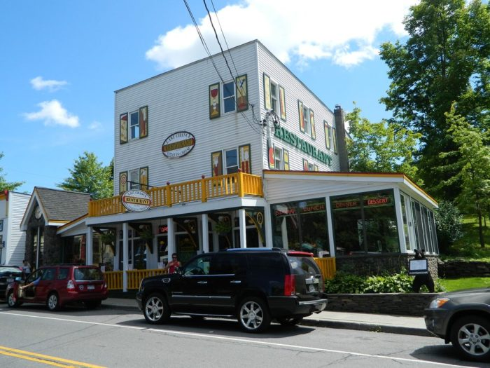 Tannersville's pop of color began with one resident's home and eventually spread throughout the entire town.
