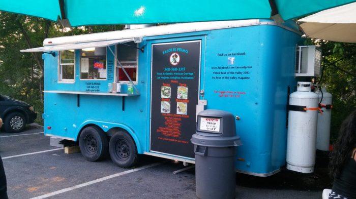 5. Tacos El Primo (Harrisonburg)