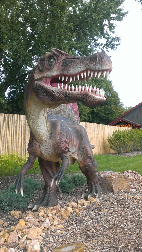 The creatures are massive, and you'll get to see a big variety including many children's favorites like the Mamenchisaurus and Tyrannosaurus Rex as you make your way around the winding loop.