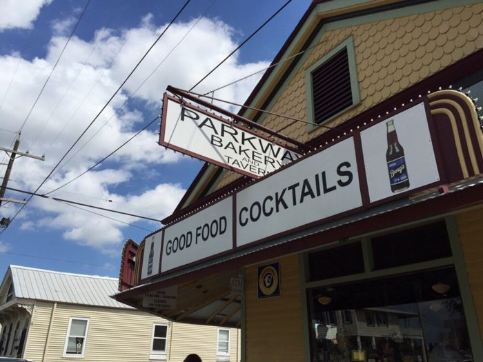 5) Parkway Bakery and Tavern, 538 Hagan Ave.