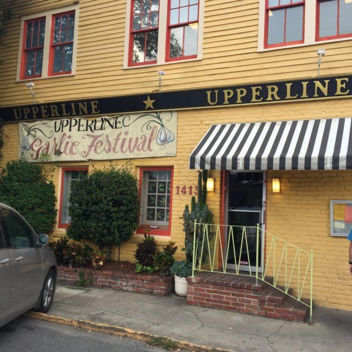 1) Upperline Restaurant, 1413 Upperline St.
