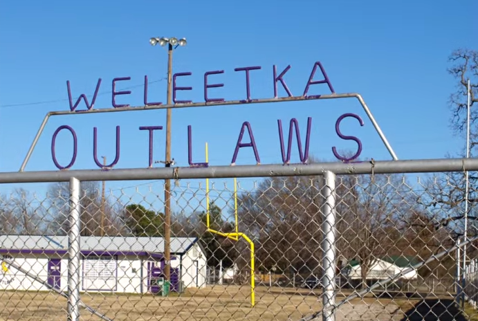 But those who can't afford to move or want to stay in their hometown say the curse on Weleetka must be broken.