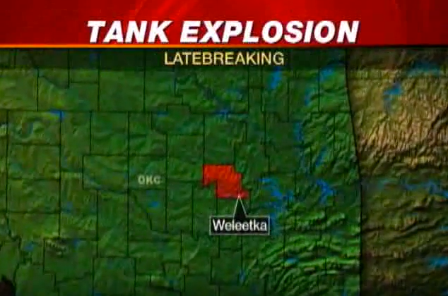 Next, a tank exploded in 2010 taking the life of a youth pastor...a beloved member of this small community.