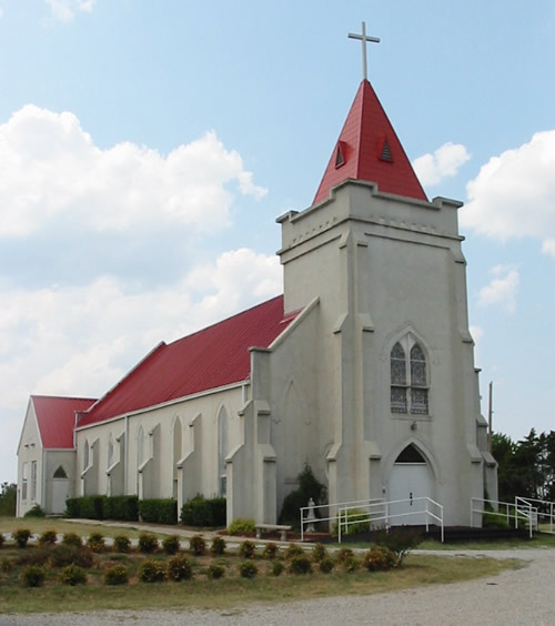 3. Sacred Heart, Pottawatomie County
