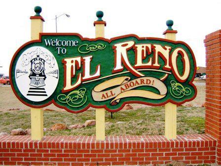 El Reno is located about 30 miles west of Oklahoma City and is home to the Heritage Express.
