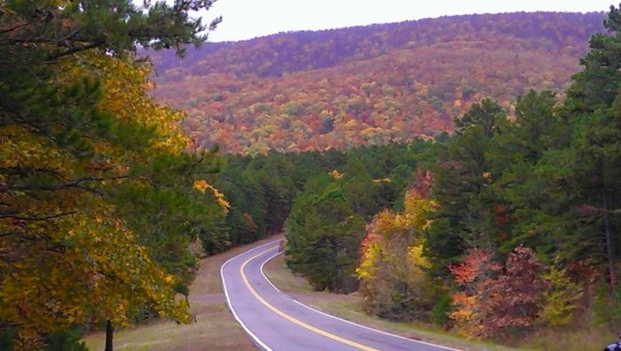 5. Talimena Scenic Byway