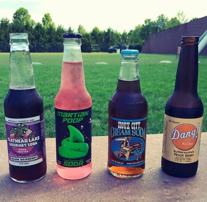 Literally, you've never seen flavors like the ones at Pops. You can even create your own six pack from a variety of flavors.