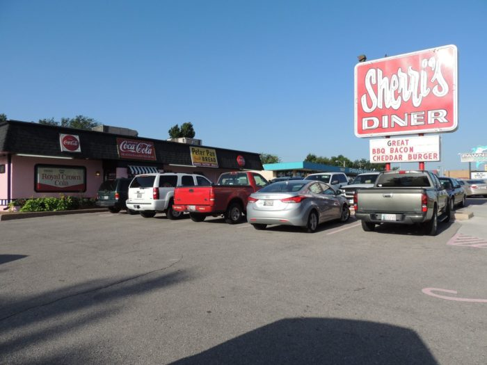 Sherri's Diner is located at 704 SW 59th, Oklahoma City, OK 73109. Hours of operation: Monday - Saturday 6:00 a.m. - 4:00 p.m. and Sundays 7:00 a.m. - 4:00 p.m.