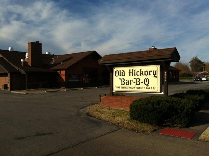 2. Old Hickory Bar-B-Q, Owensboro