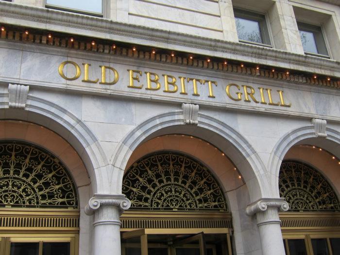 1. Old Ebbitt Grill