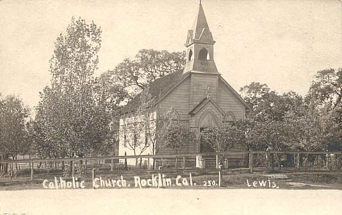 Built in 1883, Old St. Mary's Chapel was St. Mary's of the Assumption Catholic Church. But, the congregation grew to over 100 parishioners and had to find another church home -- leaving this one behind.