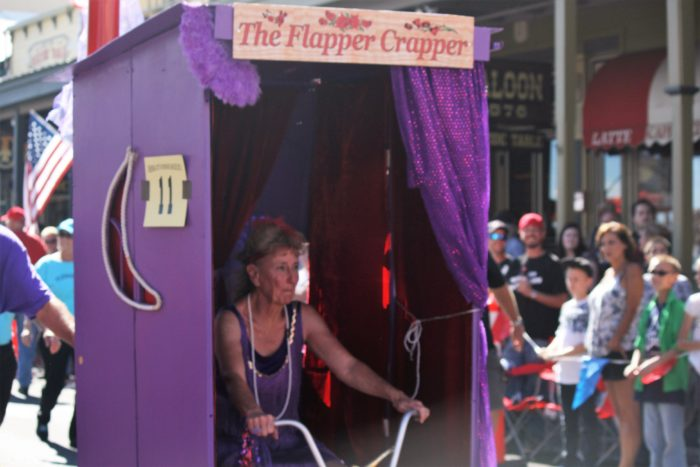 2. World Championship Outhouse Races: Downtown,  Virginia City
