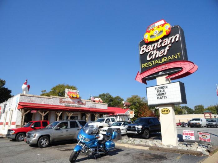 3. Optional Food Stop: Bantam Chef - Chesnee