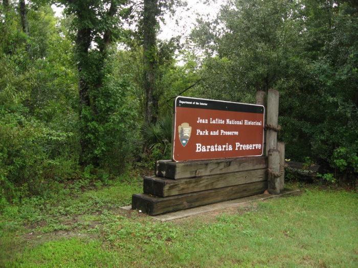 Jean Lafitte National Park has a few locations, but it's the Barataria Preserve that has the best hike.