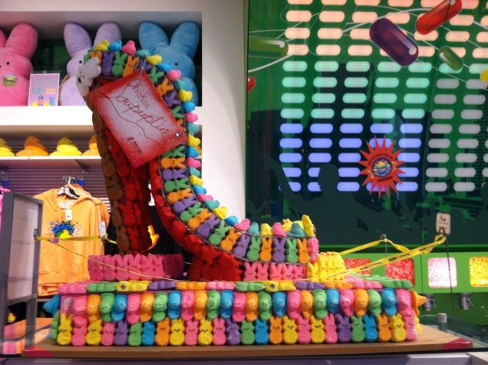 Colorful and cute, Peeps & Company is a fun place to play, explore, shop and, of course, eat candy!