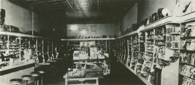 The pharmacy has been in operation since 1899, though under different owners and different names. It has been in the same family since Floyd Morris purchased it in 1935.