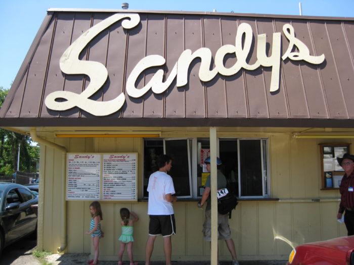 6. Sandy's Hamburgers
