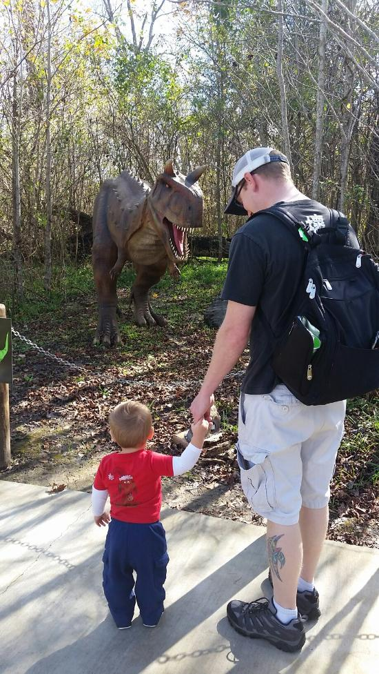 Your little one will get the chance to come face to face with some of their favorite dinosaurs!