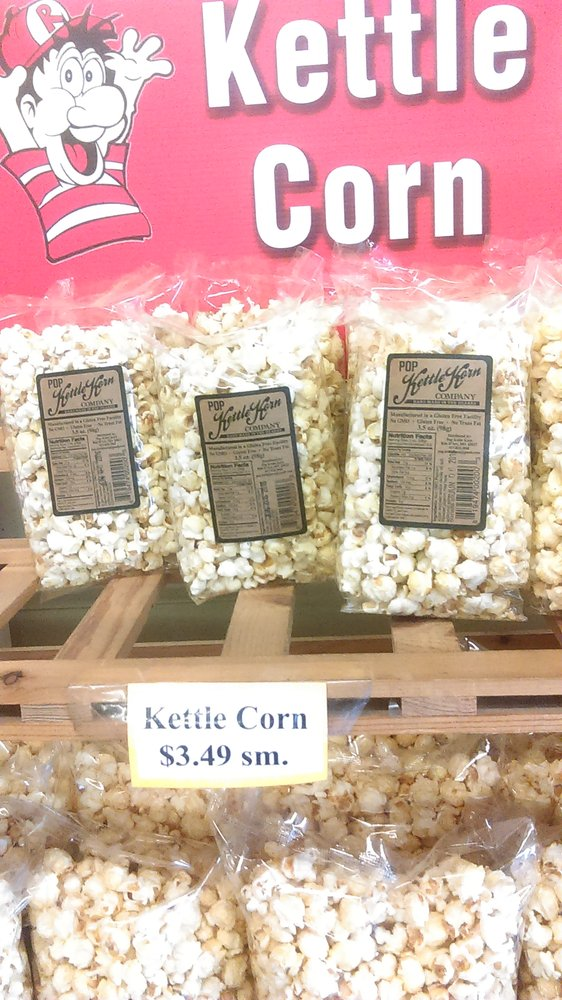 For those craving sweet and salty, Redmon's kettle corn is a perfect choice!