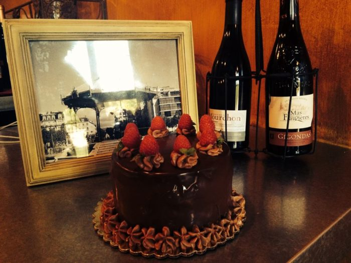 The owners have been educated at some of the finest restaurants and have run a couple amazing places on their own. This isn't their first rodeo, and this French chocolate layer cake with your choice of wine is a clear indication, right?