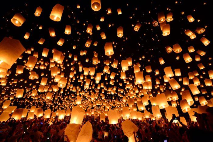 3. RiSE Lantern Festival: Moapa Travel Plaza, Moapa