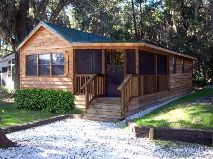 12. Riverside Lodge RV Resort & Cabins, Inverness