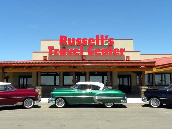 1. Russell's Truck and Travel Center, Glenrio