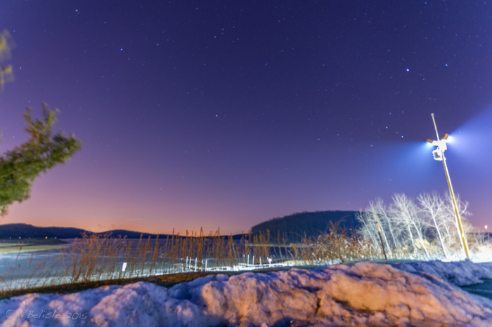 Round Valley At Night