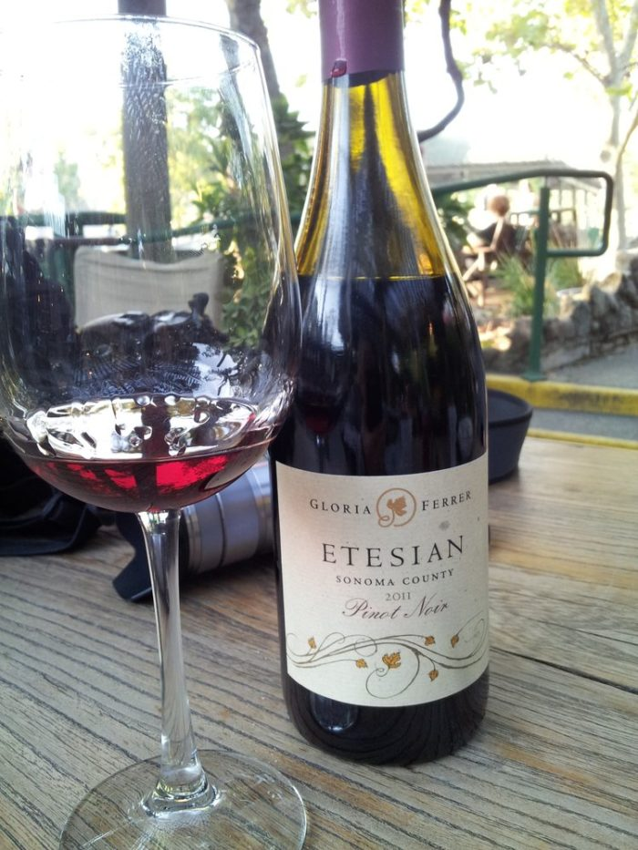 Make this trip a whole weekend event and celebrate with a bottle of wine from neighboring family-owned wineries. This delicious Pinot Noir was part of the anniversary package you can get when you arrive.