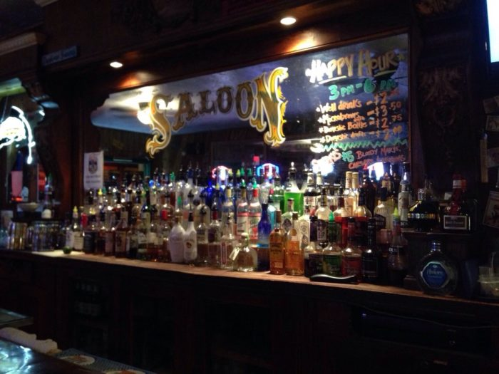 4. Head to the Two Bit Saloon