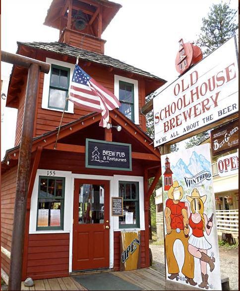 3. Visit the Old Schoolhouse Brewery.