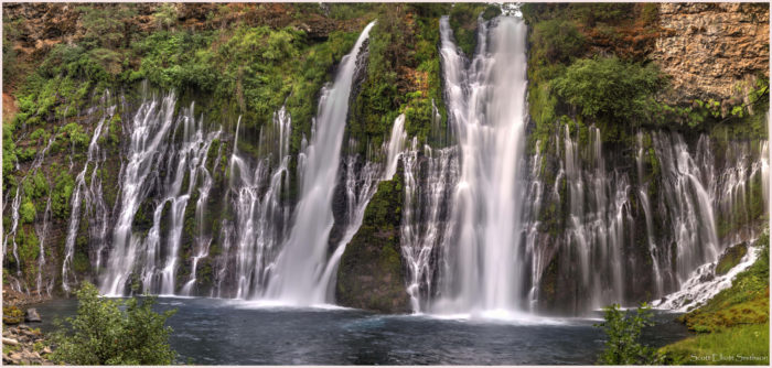 7. Go for a dip in Burney Falls.