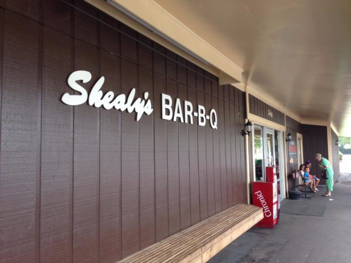 2. Shealy's Bar-B-Que - Leesville