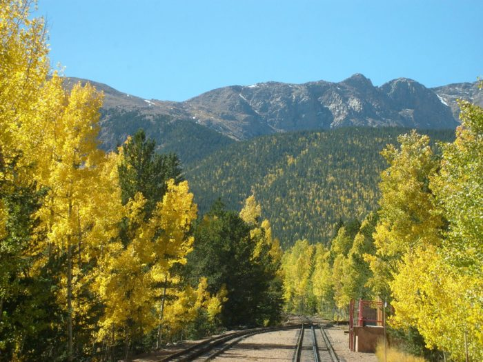 At the beginning of your journey, the steep track takes you through towering aspens, spruce and pines.