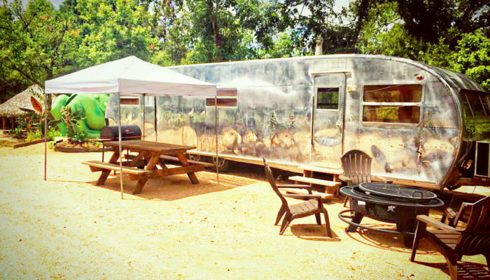 ...or even stay in a vintage RV overnight to extend the fun into the next day.