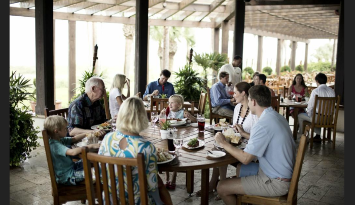 With both indoor and outdoor options, Southern Tide is the newest dining addition to The Cloister at Sea Island.
