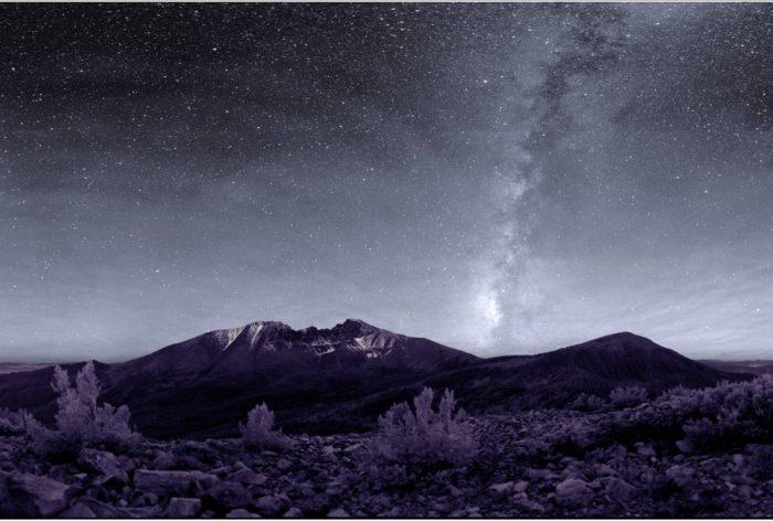 7. Stars as far as the eye can see