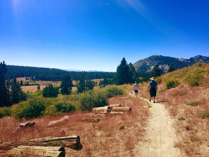 The Mount Rose Summit trail is well-maintained and clearly marked.