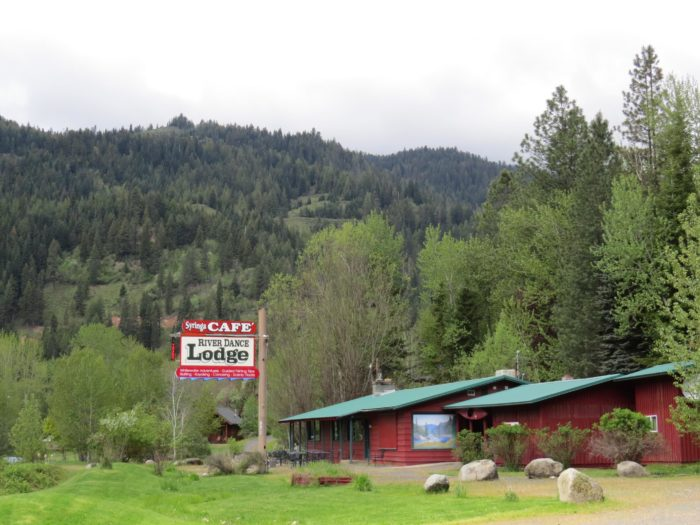 The Syringa Cafe is part of the River Dance Lodge, situated on the banks of the Wild & Scenic Clearwater River, near the Selway-Bitterroot Wilderness Area.