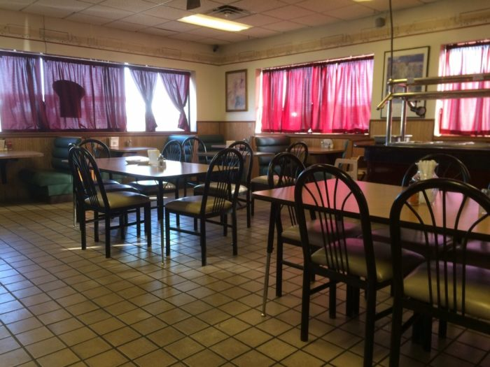The restaurant area looks a lot like any other truck stop restaurant. It's not fancy, but you aren't here for the ambiance or for frilly decorations. You're here to experience some of the most delicious Indian cuisine you've ever tasted.